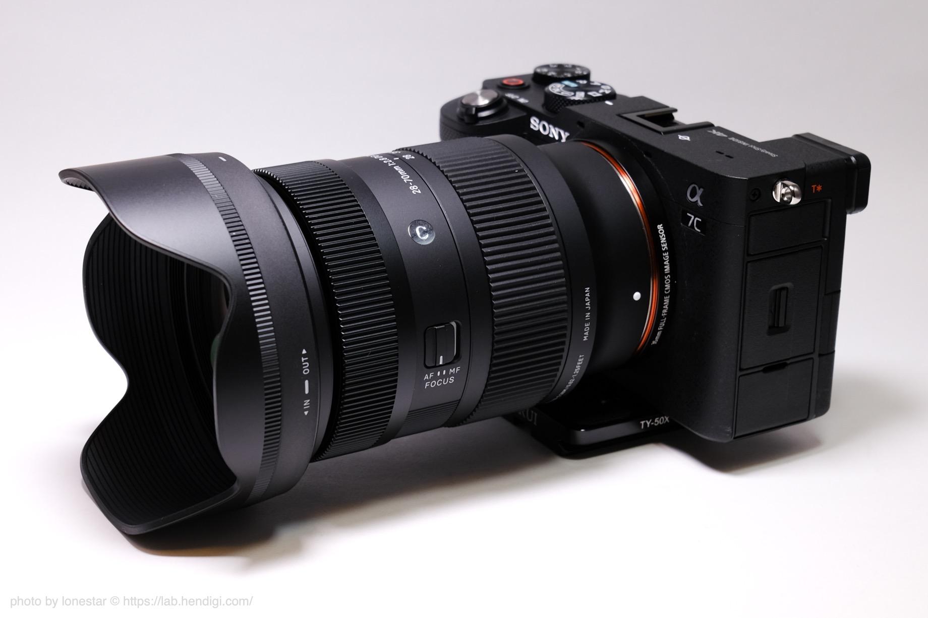 α7C SIGMA 28-70mm F2.8 DG DN