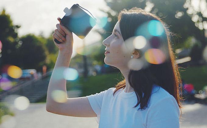 Fragment8 カメラ エフェクトレンズ
