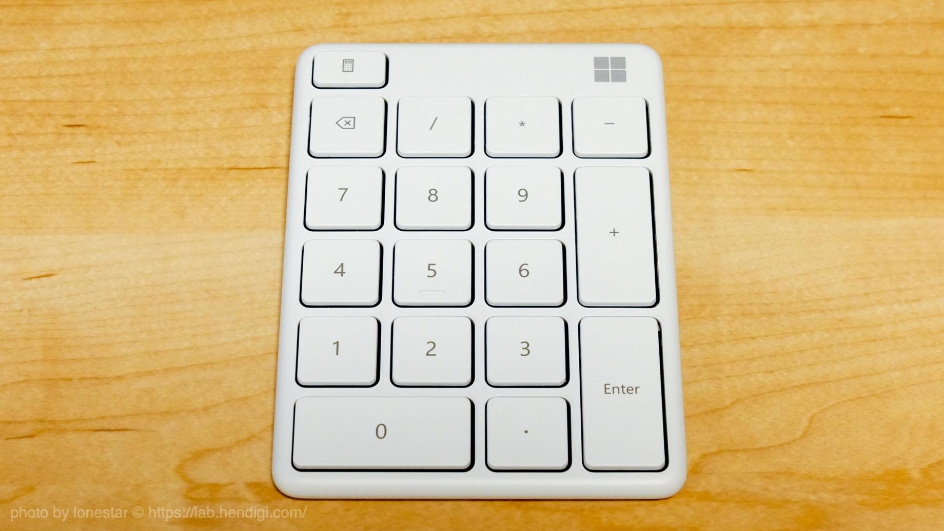 マイクロソフト テンキー レビュー