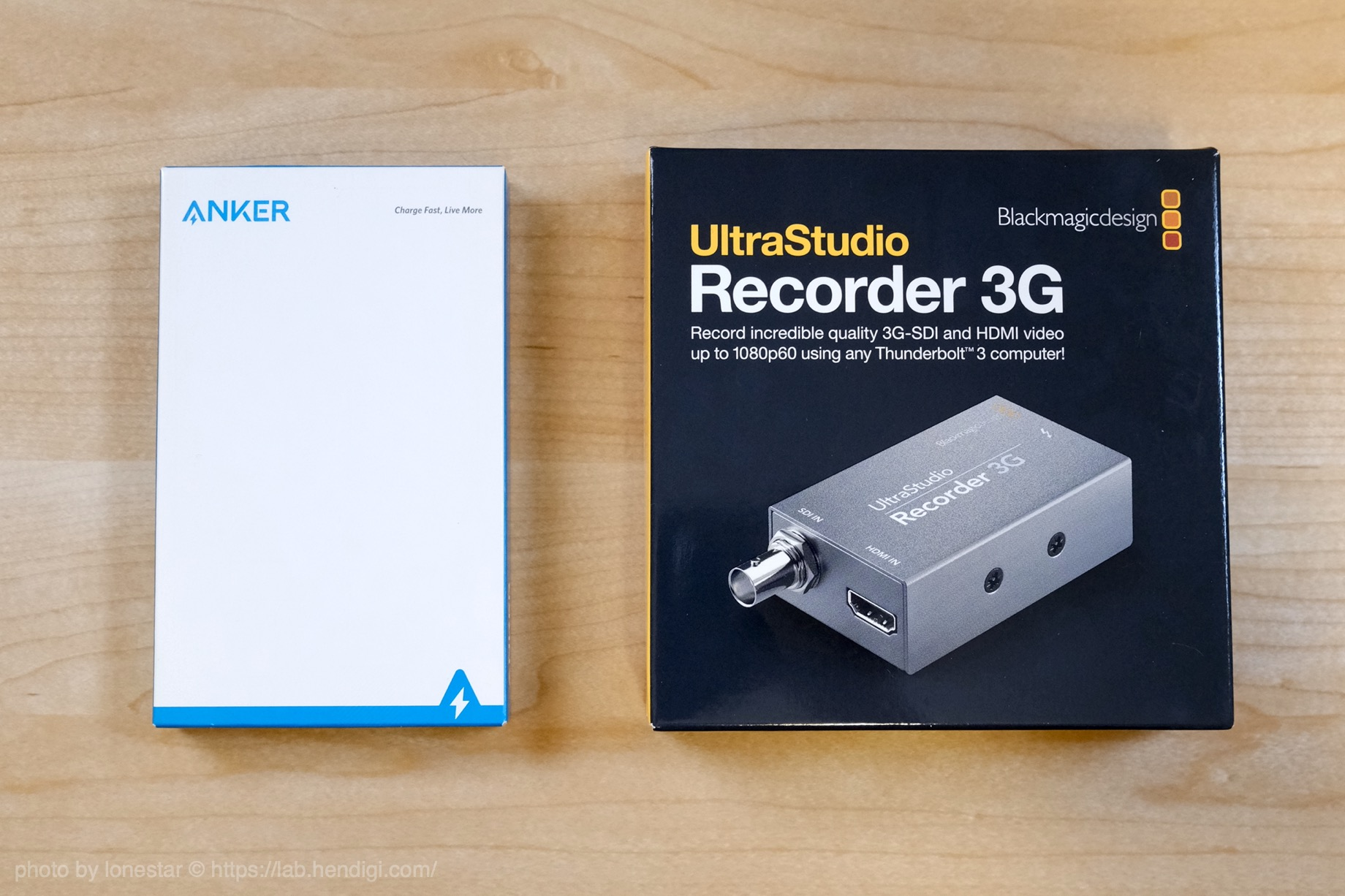 UltraStudio Recorder 3G まとめ